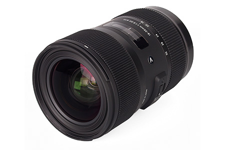 Sigma 18-35mm Dragon Camera