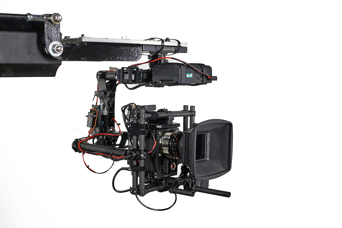 03 With Movi M20 remote stabilised head
